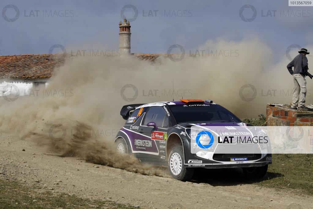 Round 03-Rally Portugal. 23th-27th March 2011, Peter van Merksteijn,Citroen WRC, Action.Worldwide Copyright: McKlein/LAT