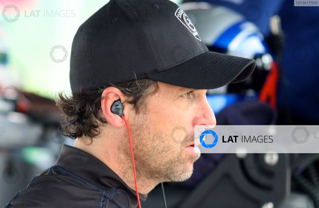 30 May, 2011, Lakeville, Connecticut USA Driver/actor Patrick Dempsey in the paddock. ©2011, R.D. Ethan LAT Photo USA