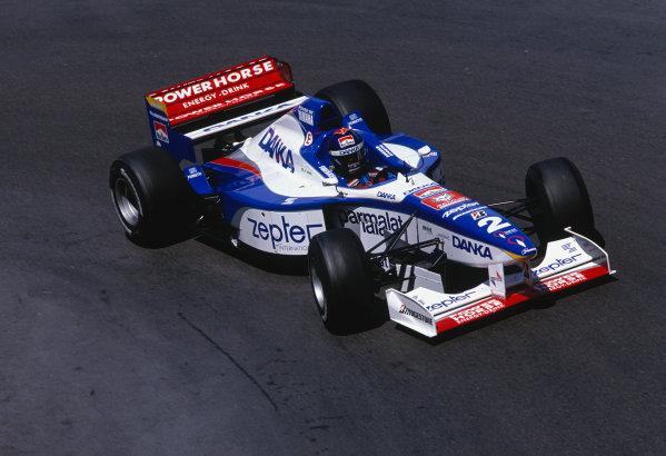 Monte Carlo, Monaco. 8-11 May 1997.Pedro Diniz (Arrows A18 Yamaha).Ref-97 MON 44.World Copyright - LAT Photographic