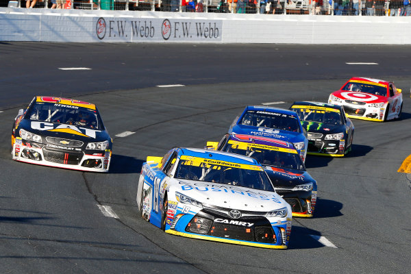 23-25 September, 2016, Loudon, New Hampshire USA Carl Edwards, COMCAST BUSINESS Toyota Camry and Denny Hamlin, FedEx Freight Toyota Camry ?2016, Russell LaBounty LAT Photo USA