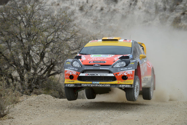 Martin Prokop (CZE) and Michal Ernst (CZE), Ford Fiesta RS WRC on stage 9. FIA World Rally Championship, Rd3, Rally Guanajuato Mexico, Leon, Mexico, Day One, Friday 8 March 2013.