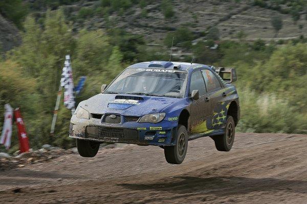 2006 FIA World Rally ChampionshipRound 13Rally of Turkey 200612th - 15th October 2006Chris Atkinson, Subaru, action.World Copyright: McKlein/LAT