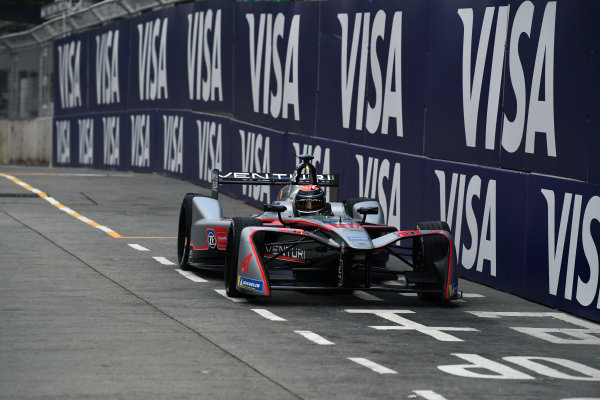 2017/2018 FIA Formula E Championship. Round 1 - Hong Kong, China. Saturday 02 December 2018. Edoardo Mortara (ITA) Venturi Formula E, Venturi VM200-FE-03. Photo: Mark Sutton/LAT/Formula E ref: Digital Image DSC_8312