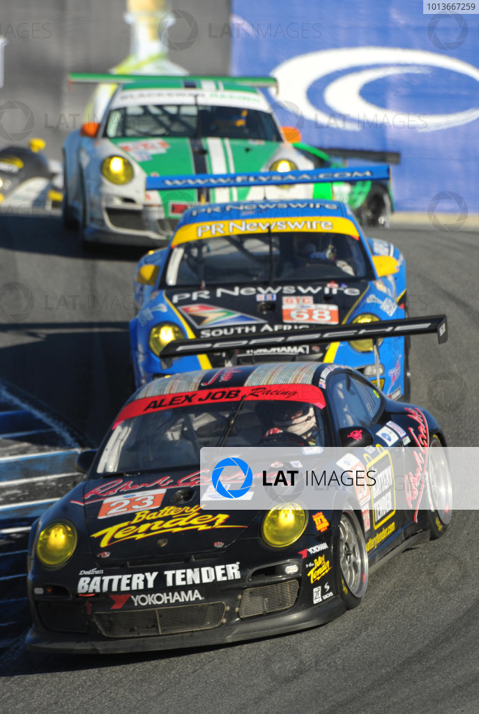 16-18 September, 2011, Monterey, California USA#23 Alex Job Racing  Porsche 911 GT3 Cup(c)2011,  Dan R. Boyd  LAT Photo USA