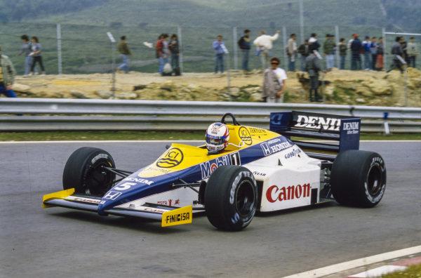 Nigel Mansell, Williams FW10 Honda.