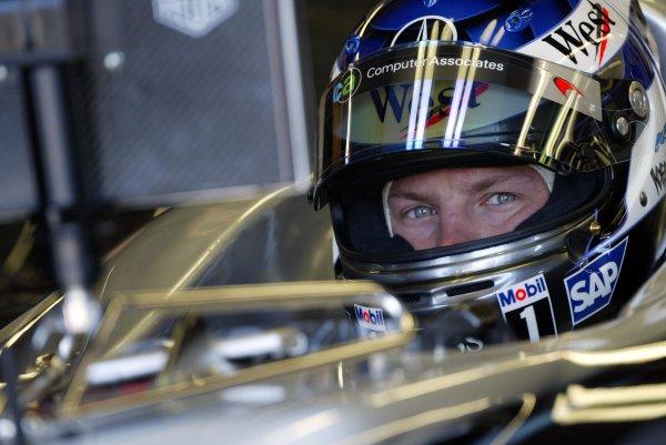 2002 Canadian Grand Prix - PracticeMontreal, Canada. 7th June 2002Kimi Raikkonen (McLaren-Mercedes).World Copyright: Steve Etherington/LATref: Digital Image Only