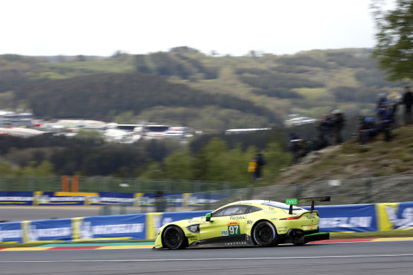 #97 Aston Martin Racing Aston Martin Vantage AMR: Alex Lynn, Maxime Martin.