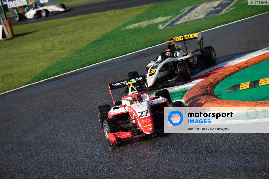 AUTODROMO NAZIONALE MONZA, ITALY - SEPTEMBER 08: Jehan Daruvala (IND, PREMA Racing) during the Monza at Autodromo Nazionale Monza on September 08, 2019 in Autodromo Nazionale Monza, Italy. (Photo by Joe Portlock / LAT Images / FIA F3 Championship)
