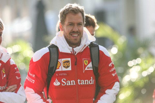 Sebastian Vettel (GER) Ferrari at Formula One World Championship, Rd19, Mexican Grand Prix, Qualifying, Circuit Hermanos Rodriguez, Mexico City, Mexico, Saturday 29 October 2016.