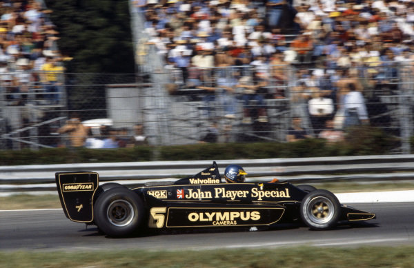 Ronnie Peterson, Lotus 78 Ford.