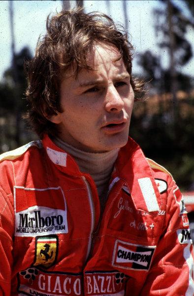 Formula 1 World Championship.Gilles Villeneuve.Ref-V2A 13.World - LAT Photographic