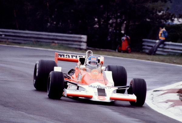 1979 Belgian Grand Prix.Zolder, Belgium.11-13 May 1979.Patrick Tambay (McLaren M26 Ford).Ref-79 BEL 24.World Copyright - LAT Photographic