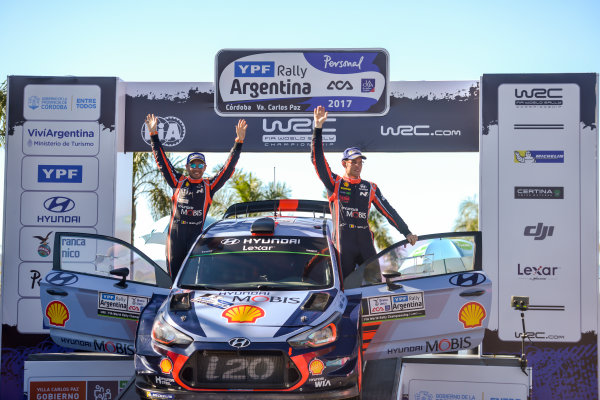 2017 FIA World Rally Championship, Round 05, Rally Argentina, April 27-30, 2017,  Worldwide Copyright: McKlein/LAT