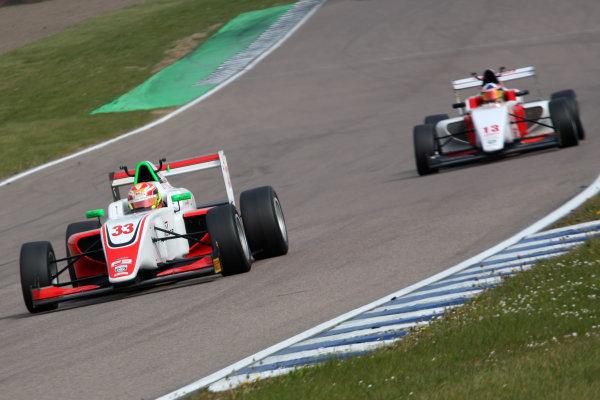 2017 BRDC Formula 3 Championship, Rockingham, England. 29th-30th April 2017, Manuel Maldonado (VEN) Fortec Motorsports BRDC F3 World copyright. JEP/LAT Images