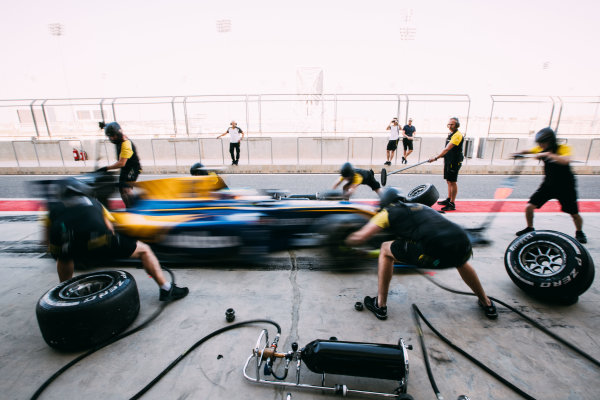 Bahrain International Circuit, Sakhir, Bahrain. Friday 31 March 2017 Oliver Rowland (GBR) DAMS  Photo: Malcolm Griffiths/FIA Formula 2 ref: Digital Image MALC1675