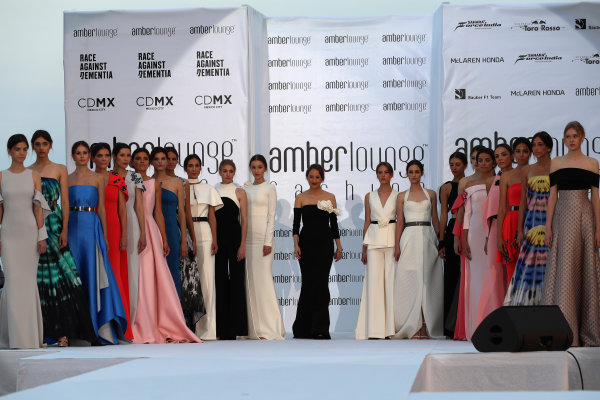 Monte Carlo, Monaco. Friday 26 May 2017. Models at the Amber Lounge Fashion Show, Le Meridien Beach Plaza Hotel, Monaco World Copyright: Mark Sutton/Sutton/LAT Images ref: Digital Image dcd1726my175