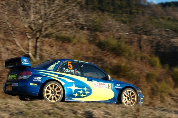 FIA World Rally Championship, Rd1, January 24-27, 2008 Rallye Monte Carlo, Valence, France & Monaco. Shakedown, Thursday January 24, 2008. Petter Solberg (NOR) during shakedown. DIGITAL IMAGE