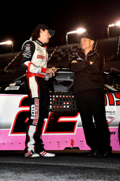 NASCAR XFINITY Series Drive for the Cure 300 Charlotte Motor Speedway, Concord, NC Sunday 8 October 2017 Ryan Blaney, Team Penske, Discount Tire Ford World Copyright: Rusty Jarrett LAT Images