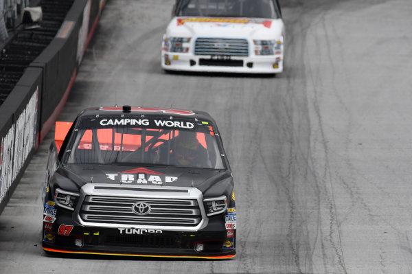 NASCAR Camping World Truck Series UNOH 200 Bristol Motor Speedway, Bristol, TN USA Wednesday 16 August 2017 Jesse Little, Triad Racing Technologies Toyota Tundra World Copyright: John K Harrelson LAT Images