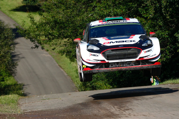 2017 FIA World Rally Championship, Round 10, Rallye Deutschland, 17-20 August, 2017, Elfyn Evans, Ford, action, Worldwide Copyright: McKlein/LAT