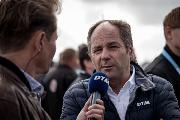 2017 DTM Round 6  Circuit Zandvoort, Zandvoort, Netherlands Saturday 19 August 2017 Gerhard Berger, ITR Chairman World Copyright: Mario Bartkowiak/LAT Images ref: Digital Image 2017-08-19_DTM_Zandvoort_R1_0120