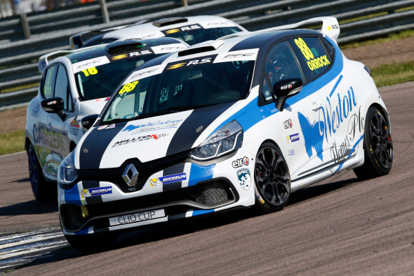 Renault Clio Cup Rockingham, 26th-27th August 2017, Lucas Orrock (GBR) JamSport Racing Renault Clio Cup World copyright.. JEP/LAT Images