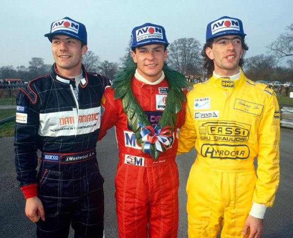 Oulton Park,, England. 29th March 1991. Rd 1.