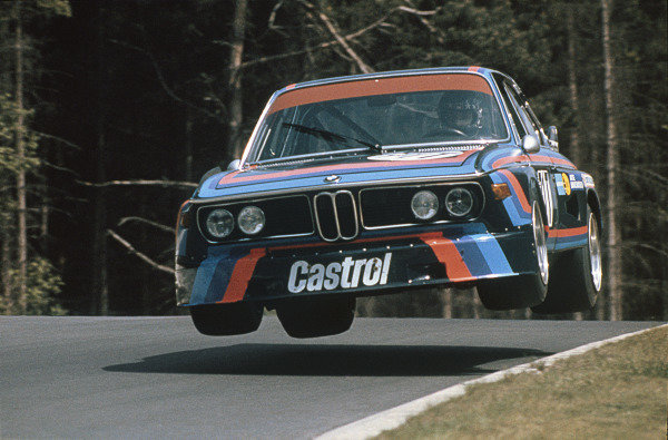 Nurburgring, Germany. 19th May 1974.Hans-Joachim Stuck/Jacky Ickx (BMW 3 0 CSL), retired, action.World Copyright: LAT Photographic.Ref: Colour Transparency.