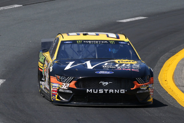 #32: Corey LaJoie, Go FAS Racing, Ford Mustang Weirs Motor Sales / Adirondack Tree Surgeons