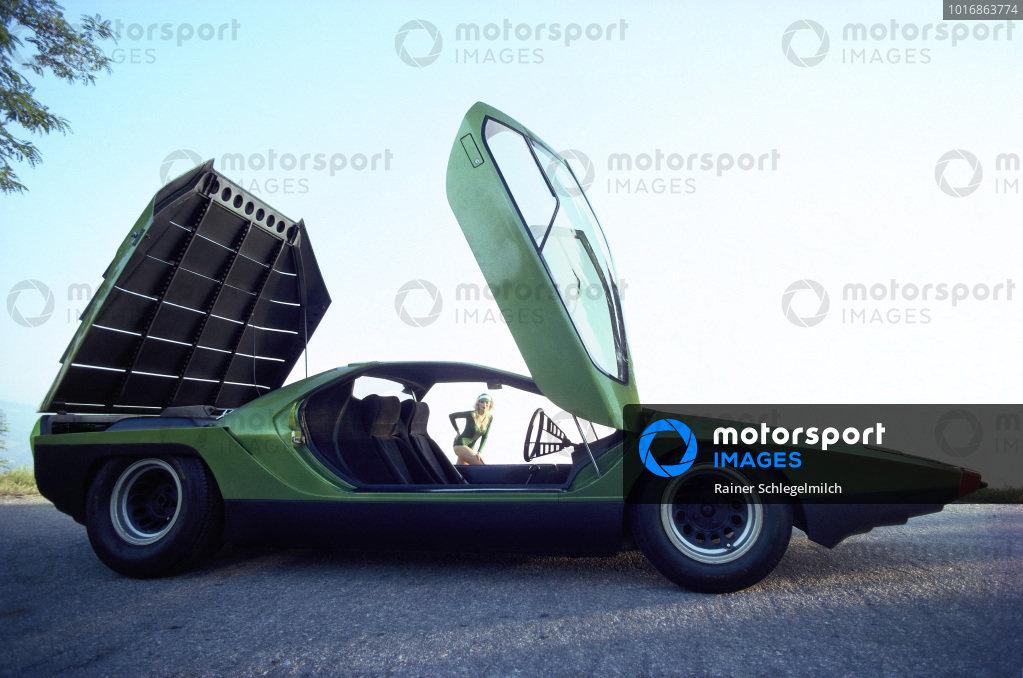 Concept Car, Bertone Carabo, based on Alfa Romeo 33 Stradale, 1968