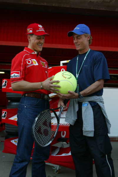 2002 Spanish Grand Prix.