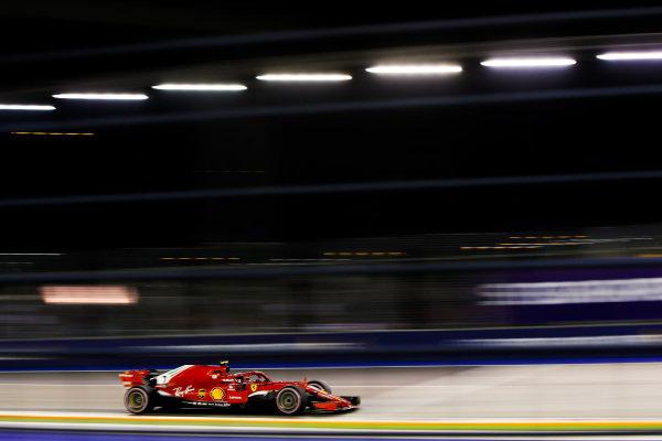 Kimi Raikkonen, Ferrari SF71H.