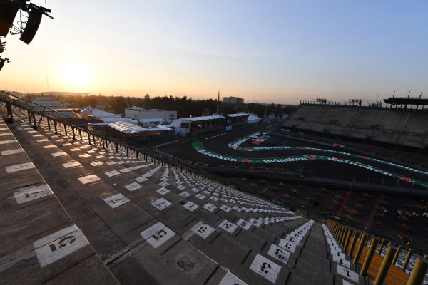 Stadium section track view