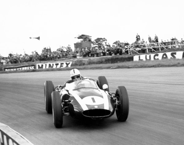 Silverstone, Great Britain. 16th July 1960.