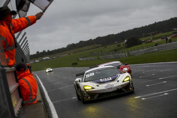 #58 Jordan Collard / Patrik Matthiesen -  HHC Motorsport McLaren 570S GT4