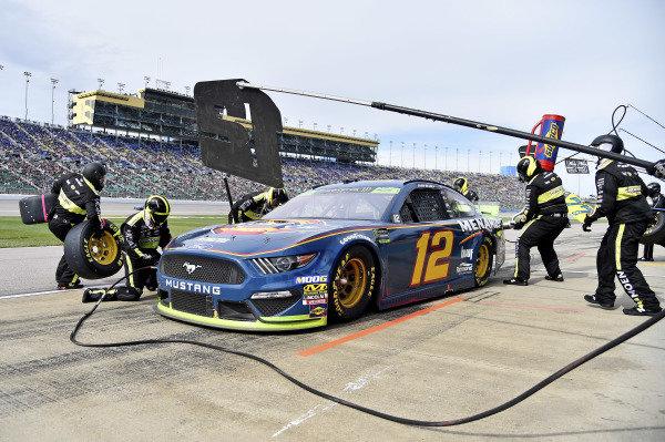 #12: Ryan Blaney, Team Penske, Ford Mustang Menards/Dickies