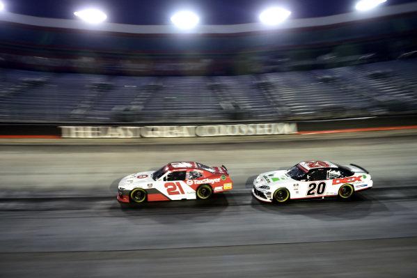 Myatt Snider, Richard Childress Chevrolet TaxSlayer, Harrison Burton, Joe Gibbs Racing Toyota Dex Imaging, Copyright: Jared C. Tilton/Getty Images.