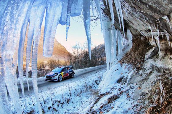 Sebastien Ogier (FRA) / Julien Ingrassia (FRA), M-Sport World Rally Team Ford Fiesta WRC at FIA World Rally Championship, Rd1, Rally Monte Carlo, Day One, Monte Carlo, Monaco, 20 January 2017.