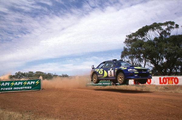 1998 World Rally Championship.Rally AustraliaColin McRae/Nicky Grist (Subaru Impreza WRC), 1st position.World - LAT Photographic