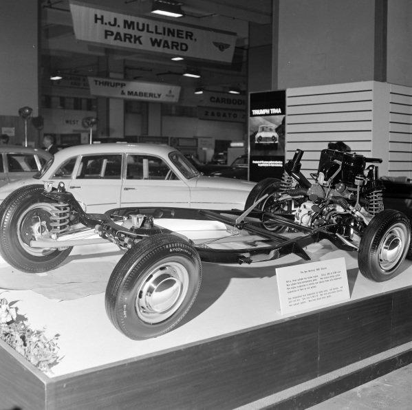 Wartburg 1000 chassis