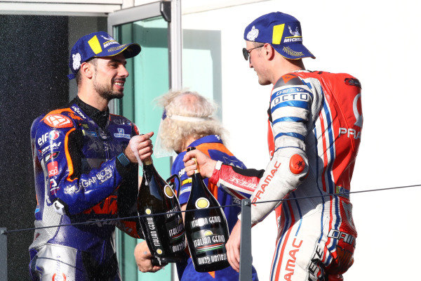 Miguel Oliveira, Red Bull KTM Tech 3, Jack Miller, Pramac Racing.
