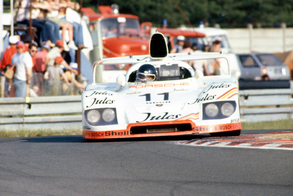 1981 Le Mans 24 HoursLe Mans, France. 13th - 14th June.Jacky Ickx/Derek Bell (Porsche 936/81), 1st position.World Copyright: Murenbeeld/LAT Photographic.