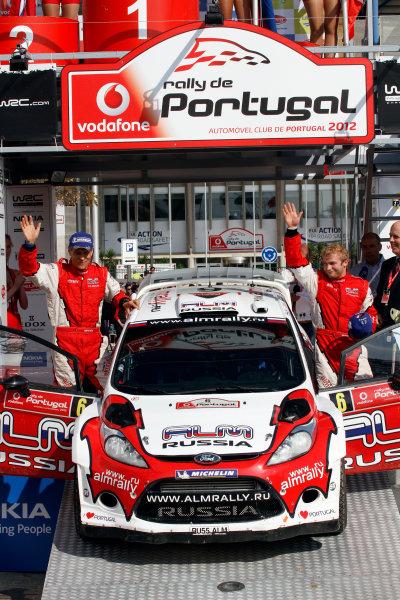 Round 04-Rally Portugal 28/3-1/4 2012. Evgeny Novikov, Ford  WRC, PodiumWorldwide Copyright: McKlein/LAT