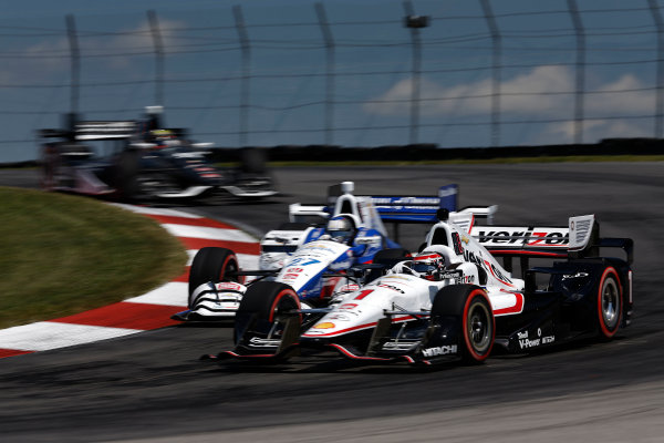 31 July - 2 August, 2015, Lexington, Ohio, USA Will Power, Marco Andretti and Gabby Chaves © 2015, Michael L. Levitt LAT Photo USA