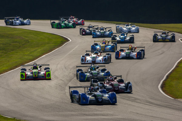 28-29 August 2015, Alton, Virginia USA IMSA Lites, Race 1, Start Shot ?2015, Jake Galstad LAT Photo USA