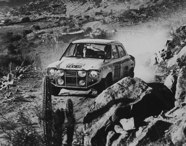 London to Mexico. 19th April - 27th May 1970.
