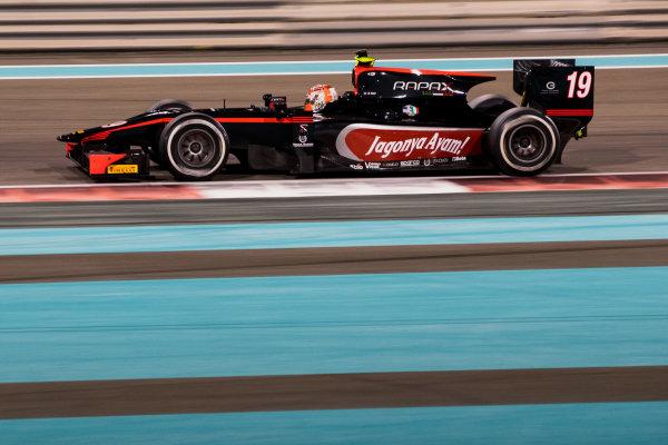 2017 FIA Formula 2 Test 3. Yas Marina Circuit, Abu Dhabi, United Arab Emirates. Saturday 2 December 2017. Norman Nato (FRA, Rapax).  Photo: Zak Mauger/FIA Formula 2. ref: Digital Image _O3I6375