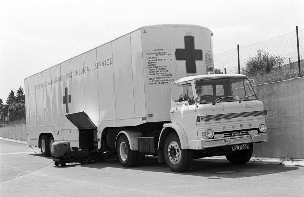 The Grand Prix Drivers Association Medical unit German GP, Nurburgring, 1 August 1971
