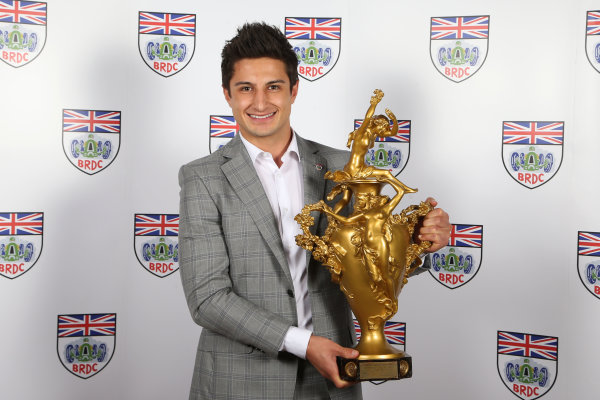 2015 British Racing Drivers Club Awards Grand Connaught Rooms, London Monday 7th December 2015 Mitch Evans. World Copyright: Jakob Ebrey/LAT Photographic ref: Digital Image Evans-01