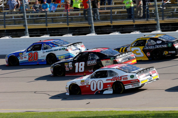 NASCAR XFINITY Series U.S. Cellular 250 Iowa Speedway, Newton, IA USA Saturday 29 July 2017 Ryan Preece, MoHawk Northeast Inc. Toyota Camry, Kyle Benjamin, Reser's Toyota Camry, Cole Custer, Haas Automation Ford Mustang and Brian Scott, Daniel Defense Chevrolet Camaro World Copyright: Russell LaBounty LAT Images